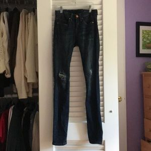 BLANK NYC skinny ripped jeans